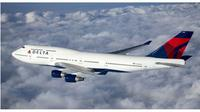 Boeing 747 milik Delta Air Lines (AFP)
