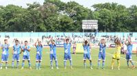 PSCS Cilacap lolos ke babak delapan besar Liga 3 2018. (Bola.com/Vincentius Atmaja)