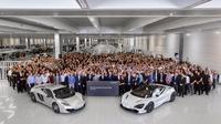 McLaren 720S mulai diproduksi di Inggris