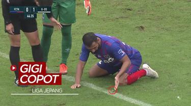 Berita Video Pemain Liga Jepang kehilangan gigi saat duel udara