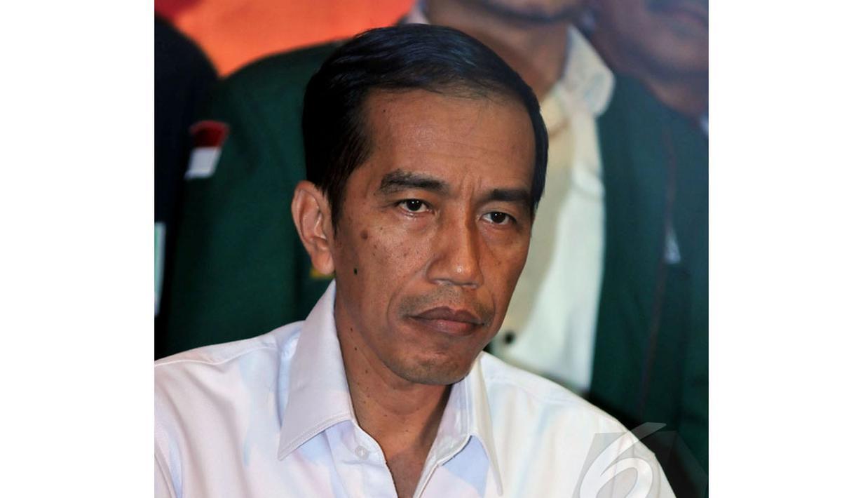 Capres PDIP Joko Widodo hadiri acara deklarasi dukungan partai di kantor DPP PDIP, Lenteng Agung, Jakarta, Rabu (14/05/2014) (Liputan6.com/Johan Tallo).