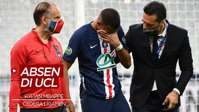 Berita Video Kylian Mbappe Dipastikan Absen Lawan Atalanta di Liga Champions