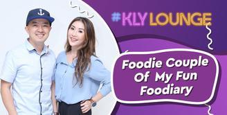 KLY Lounge mengajak kamu semua seru-seruan bareng Andy Pau dan Mullie Marline, foodie couple dari blog FunFooDiary.
