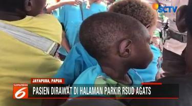 Hingga kini tercatat kematian anak akibat campak dan gizi buruk di kabupaten Asmat, Papua mencapai 70 anak.
