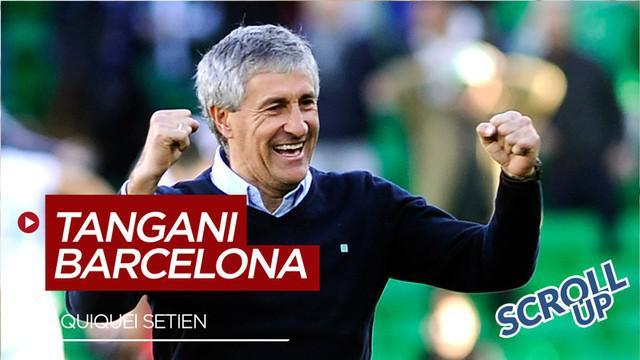 Berita video Scroll up kali ini membahas Barcelona menunjuk Quique Setien sebagai pelatih dan banyak yang meragukannya bisa sukses.