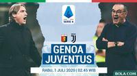 Serie A - Genoa Vs Juventus - Head to Head Pelatih (Bola.com/Adreanus Titus)