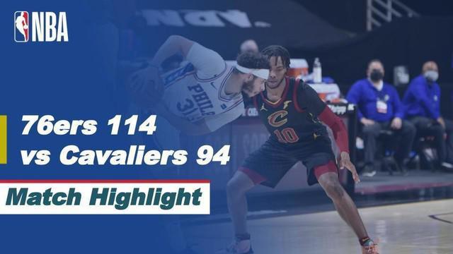 Berita Video Highlights NBA, Philadelphia 76ers Kalahkan Tuan Rumah Cleveland Cavaliers 114-94