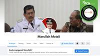 Hoaks akun palsu Walikota Jakarta Selatan Marullah Matali.