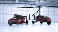 Mobil terbang PAL-V Liberty versi produksi (Carscoops).