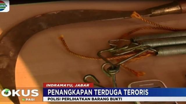 Bom low explosive ini dirakit oleh terduga teroris GL yang merupakan penyerang Mapolres Indramayu.