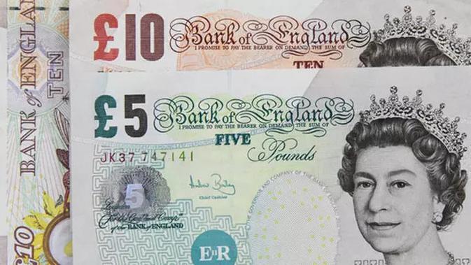 Pound sterling Inggris. (Sumber: pixabay)
