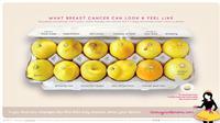 Lemon digunakan untuk mengedukasi gejala kanker payudara. (Foto: BBC)