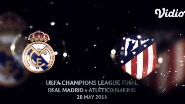 Berita VIdeo Flashback Liga Champions, Real Madrid Kembali Gagalkan Diego Simeone Raih Trofi Si Kuping Besar
