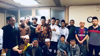 Pertemuan Dubes RI untuk Korea Selatan, Umar Hamid, dengan agen dan para ABK WNI di kota Gimbae, pada 25 & 26 Mei 2018. (ISTIMEWA)