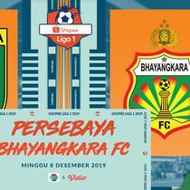 Shopee Liga 1 - Persebaya Surabaya Vs Bhayangkara FC (Bola.com/Adreanus Titus)