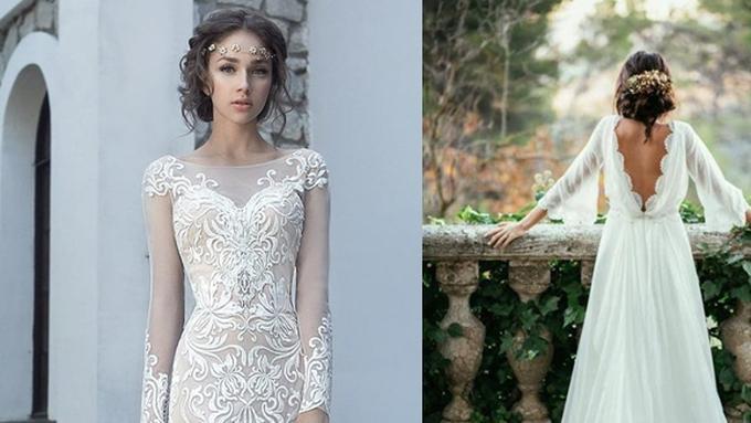 Inspirasi Gaun Pernikahan Simple Elegan Dan Modern Beauty Fimela Com