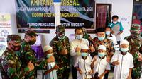 Satgas TMMD reguler ke-109 Desa Jatiwarno, Kecamatan Jatipuro, Karanganyar, Jawa Tengah