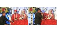 Hadiri Pernikahan Mantan, Aksi Pria Ini Bikin Sedih Sekaligus Ketawa (sumber:Twitter/@giewahyudi)