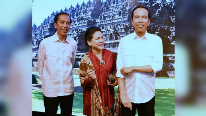 Patung lilin Presiden Jokowi (foto: biro pers kepresidenan)