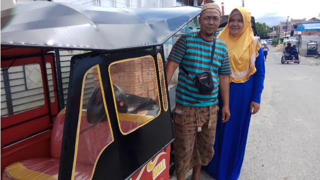 Semangat Calon Paskibraka Anak Penarik Bentor Gorontalo