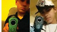 Remaja yang terlibat perampokan ini dibekuk kepolisian gara-gara mengunggah foto selfie di media sosial (Sumber: Phone Arena)