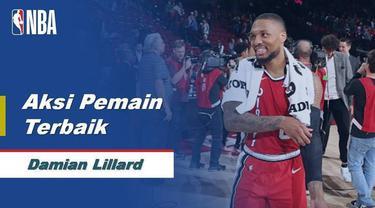 Berita Video Aksi Terbaik Damian Lillard Saat Trail Blazers Kalahkan Orlando Magic 118-103