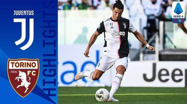 Berita video highlights Serie A 2019-2020 antara Juventus melawan Torino yang berakhir dengan skor 4-1, di mana Cristiano Ronaldo mencetak gol melalui free kick, Sabtu (4/7/2020) malam hari WIB.