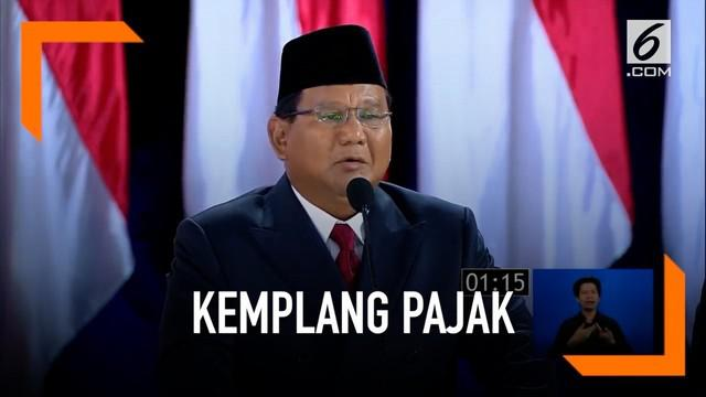 Demi meningkatkan pemasukan bagi Indonesia, Prabowo berjanji akan kejar pengemplang pajak jika terpilih.