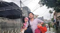 Adamas Belva Syah Devara, salah satu staf khusus ke Presidenan yang kebanjiran dan memilih mengungsi untuk mengamankan diri,