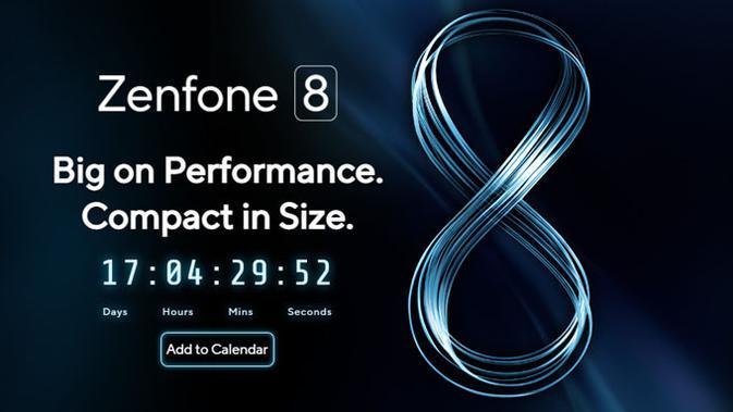 Asus ungkap tanggal peluncuran Zenfone 8. (Doc: Asus)