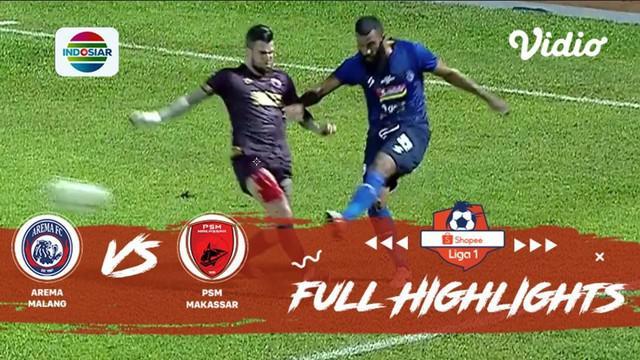 Berita video highlights Shopee Liga 1 2019 antara Arema FC melawan PSM Makassar yang berakhir dengan skor 2-0, Rabu (2/10/2019).