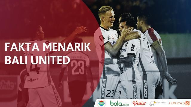 Berita video fakta menarik Bali United di Piala Presiden 2018.