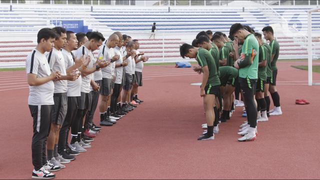 Timnas Indonesia U-22 Jajal Lapangan Jelang Hadapi Thailand