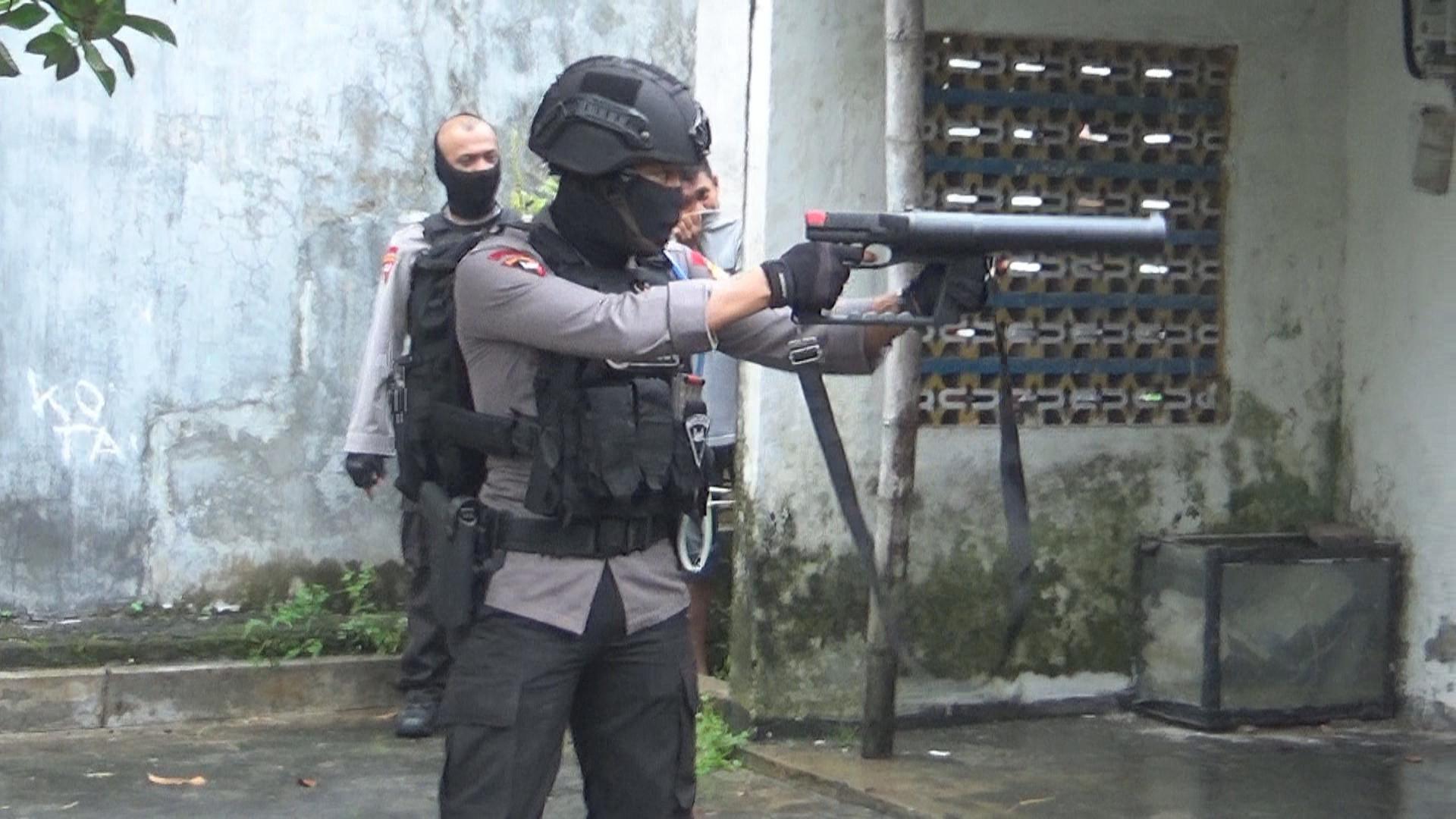 Tim Gegana diturunkan hanya untuk menangkap Orang Dengan Gangguan Jiwa. Foto: (Dian Kurniawan/Liputan6.com)