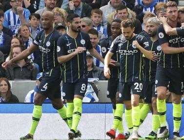 Manchester City Vs Brighton and Hove Albion