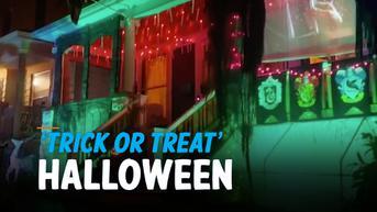 VIDEO: 'Trick or Treat' Halloween Aman di tengah Berlanjutnya Pandemi Covid-19