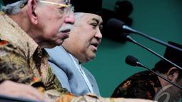 Dalam debat capres jilid III, Jokowi ingin memperjuangkan kebebasan Palestina jika terpilih menjadi presiden pada Pilpres 2014 (Liputan6.com/Faizal Fanani)