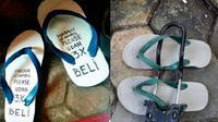 tips agar sandal jepit tak dicuri di masjid