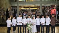 Delapan kepala daerah dan dua anak mantan Presiden dalam Silahturahmi Bogor di Museum Kepresidenan Balai Kirti, Bogor Jawa Barat, Kamis 15 Mei 2019 malam. (Istimewa)