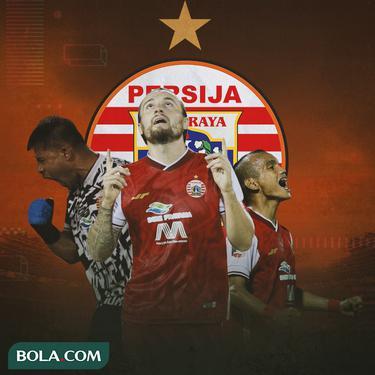 Persija Jakarta - Andritany Ardhiyasa, Marc Klok, Riko Simanjuntak