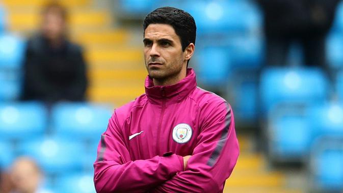 Mikel Arteta. (doc. Manchester City FC)