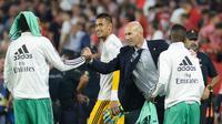 Real Madrid harus menjaga tren positif saat melawan Osasuna (Cristina Quicler/AFP)