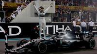Lewis Hamilton Menangi Balapan Penutup Formula 1 2019 (Dok F1)