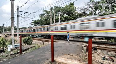 Sering Kecelakaan, Perlintasan Kereta Tanpa Palang di Tanah Kusir Dibangun Pembatas
