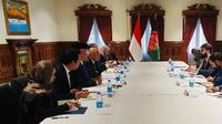 Konsultasi Bilateral antara Republik Indonesia dan Afghanistan. (Source: Kemlu RI)
