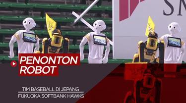 Berita Video Tim Liga Baseball Jepang Gunakan Robot Untuk Gantikkan Suporter di Masa New Normal
