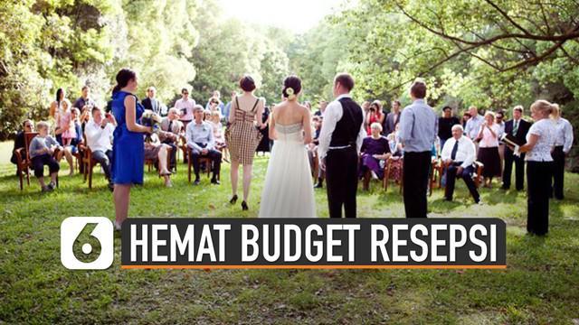 Resepsi pernikahan terkenal dengan biaya yang tidak murah atau bisa dikatakan mahal. Tetapi ini dia cara hemat budget resepi pernikahan saat new normal.