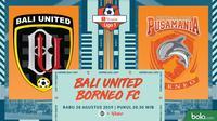 Shopee Liga 1 - Bali United Vs Borneo FC (Bola.com/Adreanus Titus)