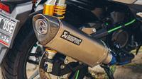 Penggunaan knalpot racing sedang diincar oleh polisi (Layz Motor)