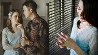 Handika Pratama dan Rosiana Dewi (Sumber: Instagram/rsn.dw/umarez.photography)
